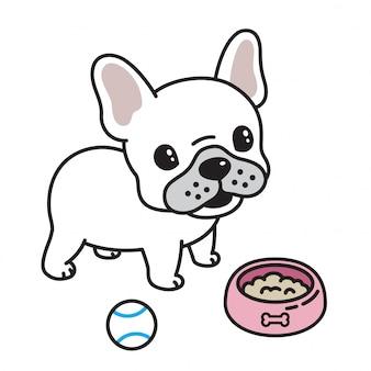 Dessin animé de bulldog