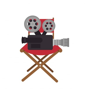 Dessin animé cinéma film festival conception de film