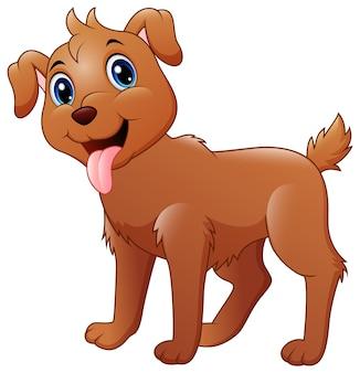 Dessin animé drôle de chien
