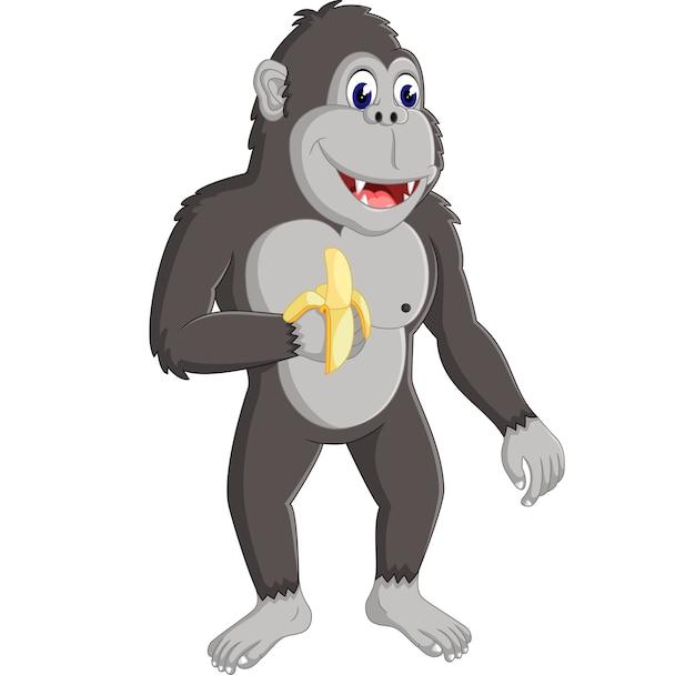 Dessin animé de gorilles