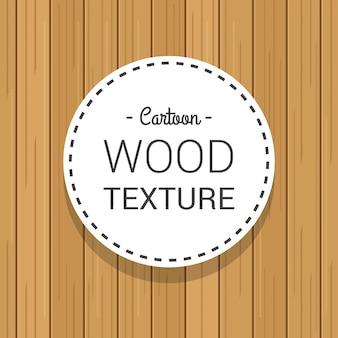 Dessin animé main dessiné texture de planche de bois sans soudure