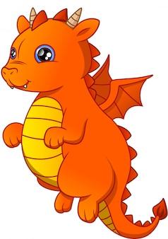 Dessin animé mignon bébé dragon