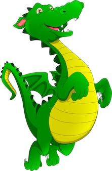 Dessin animé mignon de dragon