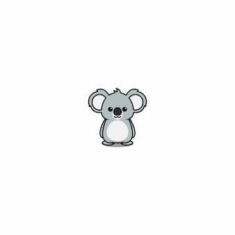 Dessin animé mignon de koala