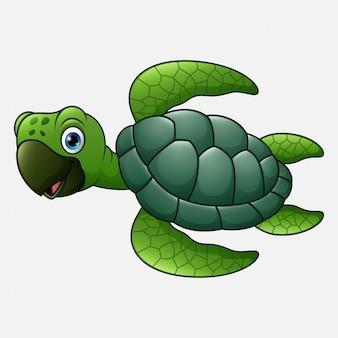 Dessin animé mignon de tortue
