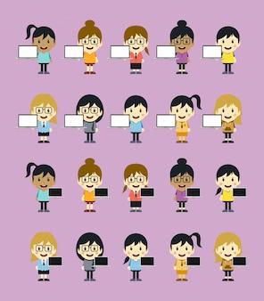 Dessin animé personnage thème graphique art vector illustration