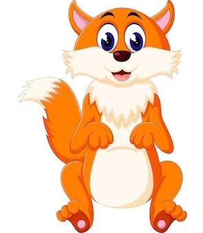 Dessin animé de renard