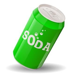 Dessin animé, soda, restauration rapide