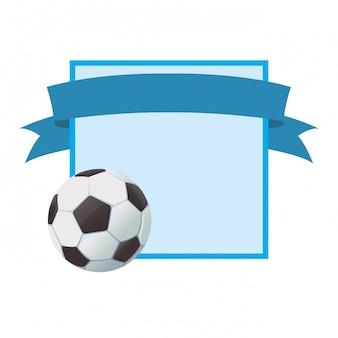 Dessin animé de sport de football