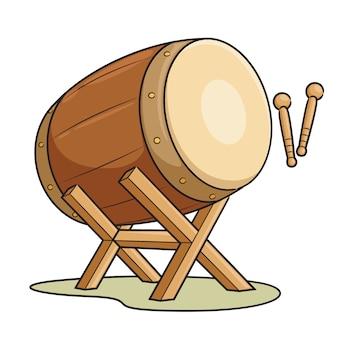 Dessin animé de tambour