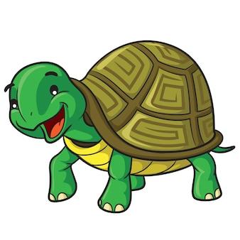 Dessin animé tortue