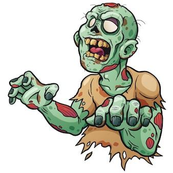 Dessin animé zombie