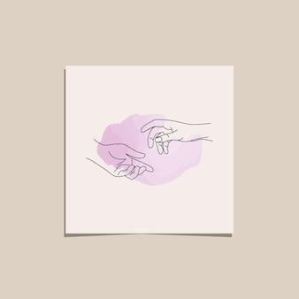 Dessin au trait continu coup de main