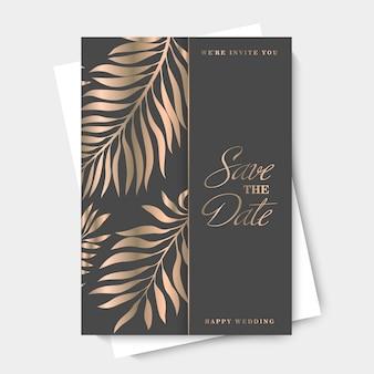 Dessin de bordure de fleur - motif tropical