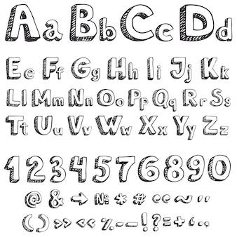 Dessin de lettres vectorielles