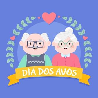 Dessin de dia dos avós