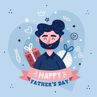 Dessin fête des pères