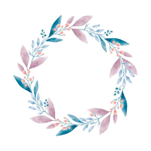Dessin graphique vectoriel aquarelle couronne