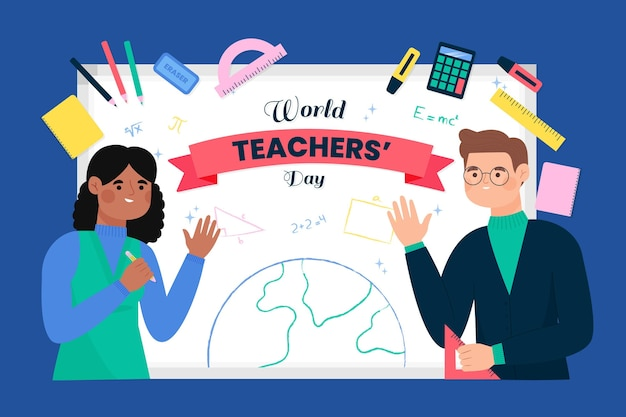Dessin de la journée des enseignants