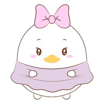 Dessin mignon daisy duck