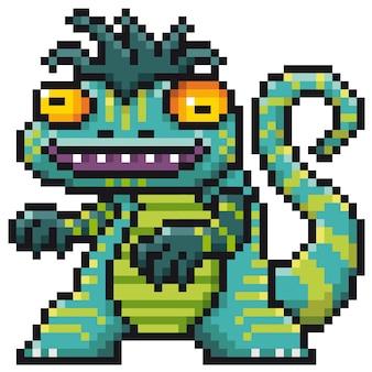 Dessin monstre pixel