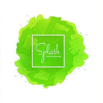Dessin de splash aquarelle douce dessiné à la main