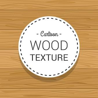 Dessinés à la main semi véritable texture en bois brun