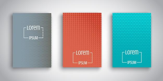 Dessins abstraits pour les modèles de brochure