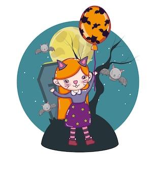 Dessins animés enfants halloween