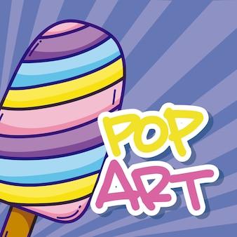 Dessins animés pop art