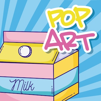 Dessins animés pop art