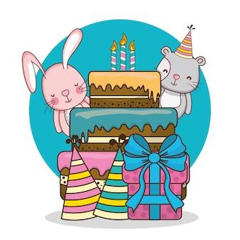 Dessins de cartes de joyeux anniversaire