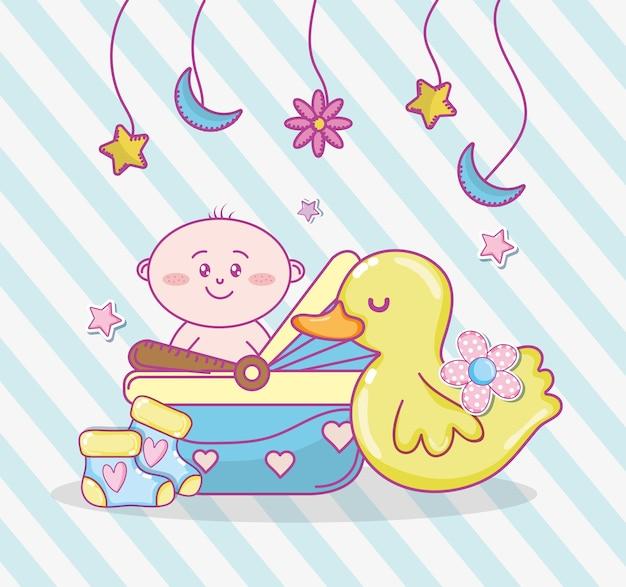 Dessins de douche de bébé