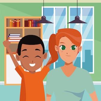 Dessins de famille et dessins d'enfants