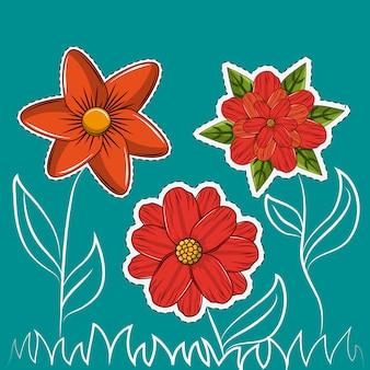 Dessins de fleurs
