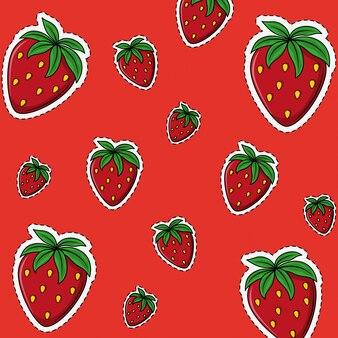 Dessins de fraises