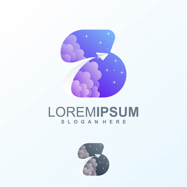Dessins de logo de l'espace