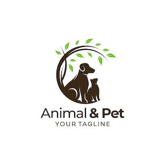 Dessins de logos d'animaux et d'animaux de compagnie
