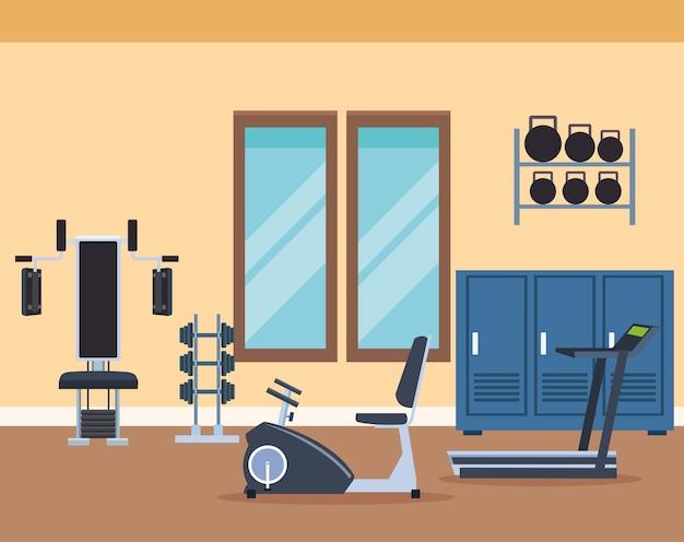 Dessins de machines d'exercice