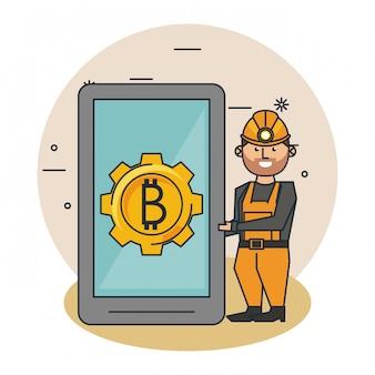 Dessins miniers bitcoin