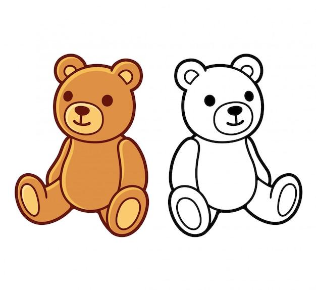 Dessins d'ours en peluche
