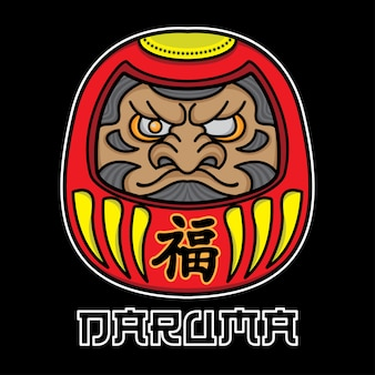 Dessins de tatouage daruma