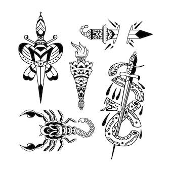 Dessins de tatouage