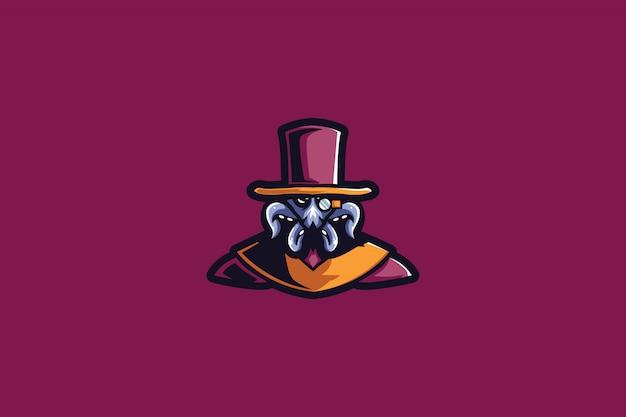 Detective octo e sports logo