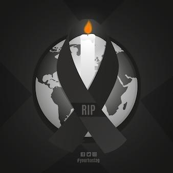 Le deuil des victimes