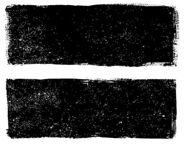 Deux arrière-plans texturés grunge