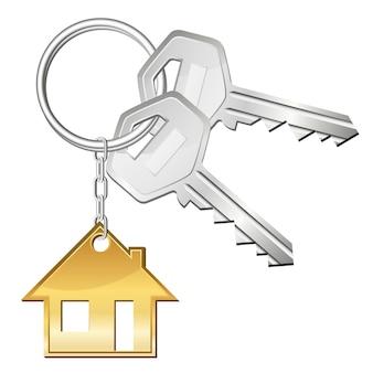 Deux clés pour la maison