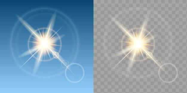 Deux effets de soleil
