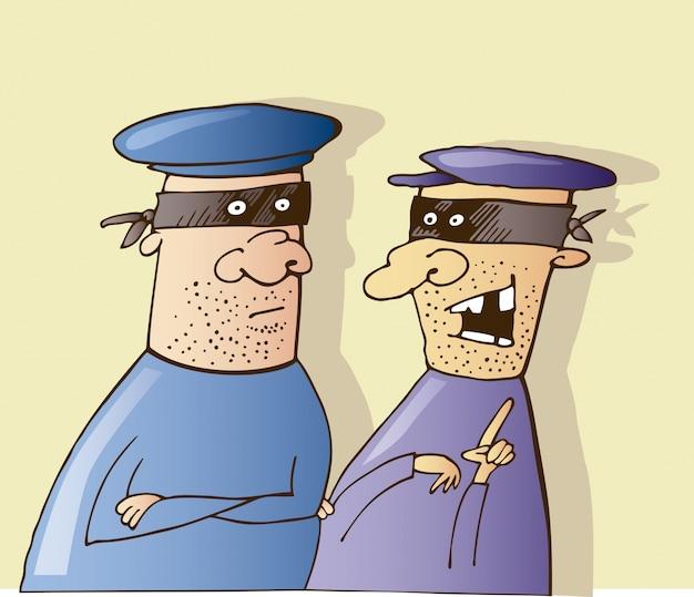 Deux voleurs parlent