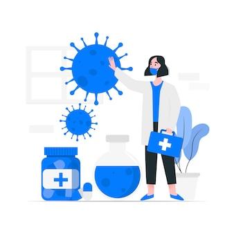 Développement d'un antidote contre les coronavirus